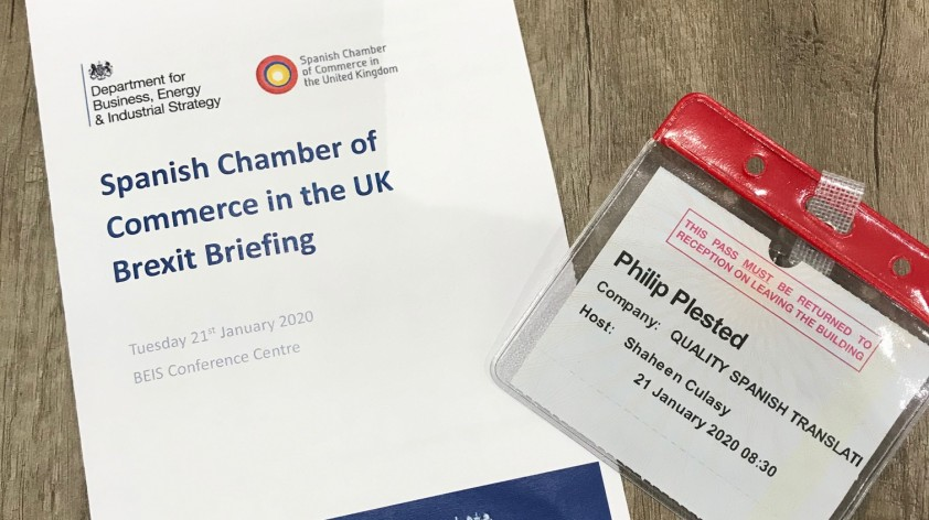 Spanish Chamber of Commerce Brexit Briefing